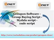 Groupon Software, Group Buying Script, Mydala script, 1sale script