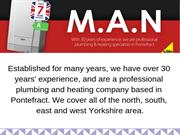 Gas Safe Heating Engineers Pontefract - Man Plumbing & Heating