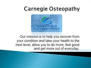 Osteopathic Manipulative Treatment In Australia | Osteopathic Clinic