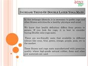 Increase Trend Of Double Layer Yoga Mats