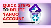 QUICK STEPS TO DELETE YAHOO ACCOUNT