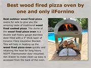 Best wood fired pizza oven by ilFornino