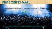 Party Hall Booking Script - Event Hall Reservation Script