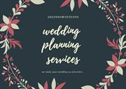 wedding planning services | wedding planner