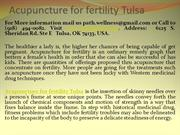 Acupuncture for fertility Tulsa