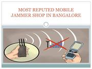Best Price Mobile Jammer Shop in Bangalore