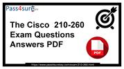 Cisco 210-260 Dumps Questions and Answers