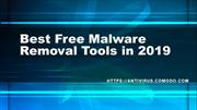 Best free-malware removal tool in 2019
