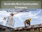 Building Construction Work and Metal Fabrication
