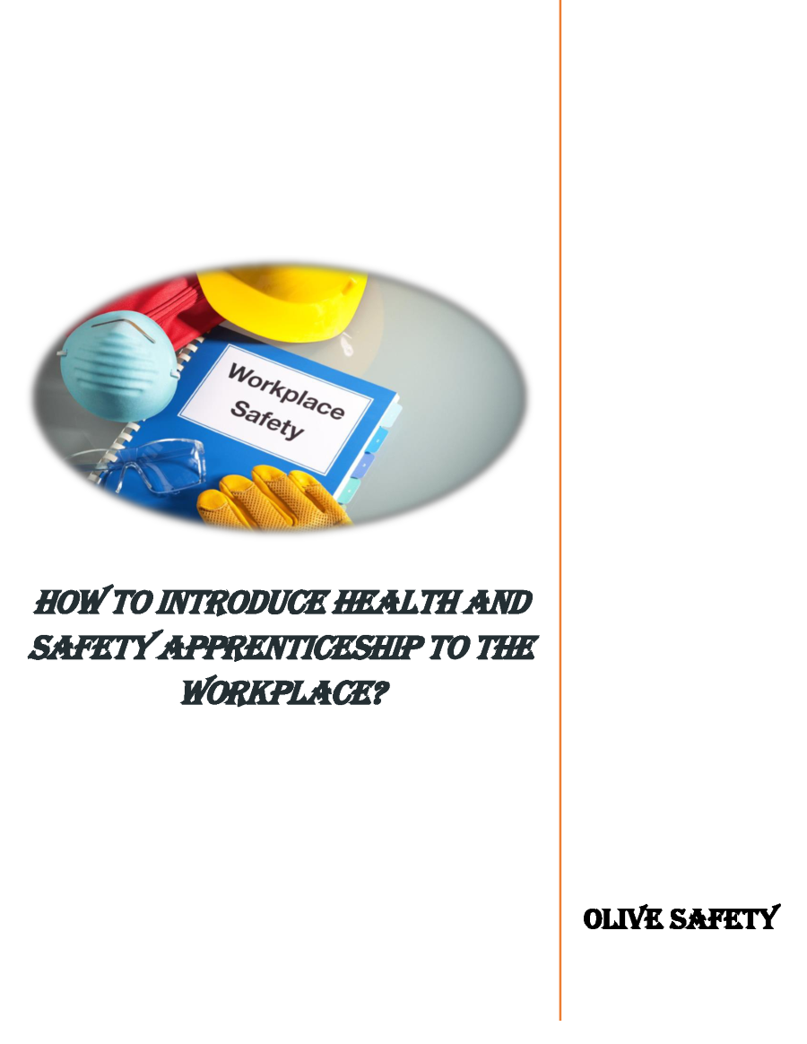 How to Introduce Health And Safety Apprenticeship to the ...
