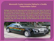 Monmouth County Limousine Opting for a Quality Transportation System
