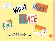 What Does Peace feel like107