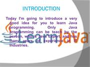 Java Training in Delhi