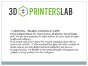Anycubic 3d printers - 3D Printers Lab