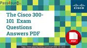 Cisco 300-101 Exam Dumps Test Qusetion & Answers