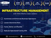 infrastructure management solutions with Web Werks Data centers
