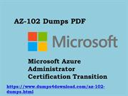 Latest Free AZ-102 Exam Questions With Valid AZ-102 Dumps