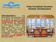 Fully Furnished Vacation Rentals Christiansted
