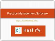 Practice Management software- manage patients easily