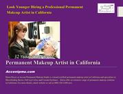 Look Younger Hiring a Professional Permanent Makeup Artist in Californ