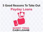 Payday Loans- Get Quick Loans Online With Instant Approval