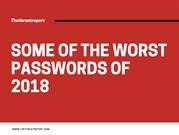 The Worst Passwords of 2018 Revealed – The Threat Report
