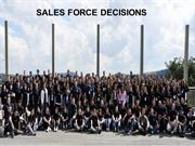 sales force decisions