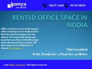 RENTED OFFICE SPACE IN NODIA