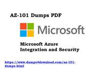Valid And Updated AZ-101 Exam Certifications Dumps Questions