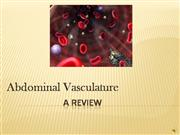 Abdominal Vessel Review PPT