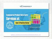 Affordable Product Upload Services – Ecommerce Data Solution