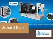 Generator Spare Parts Supplier - Jubaili Bros