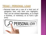 Apply for a Personal Loan & Business Loan in Texas