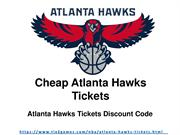 Discount Atlanta Hawks Tickets