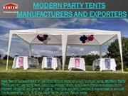 Modern Party Tent