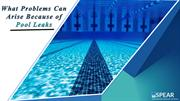 What Problems Can Arise Because of Pool Leaks