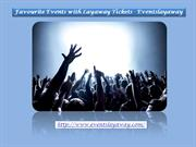 Favorite Events with Layaway Tickets - Eventslayaway