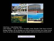 Cuba Tours - Cuba Holiday Deals