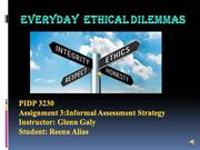 Everyday Ethical dilemmas (video)