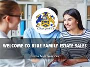 Information Presentation Of Blue Family Estate Sales