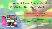Weight loose Ayurveda Products | BioLife Products | BioShape