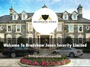 Bradshaw Jones Security Limited Presentation