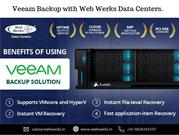 Veeam Backup with Web Werks Data Centers