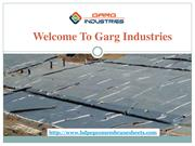 Geomembrane Sheets in India