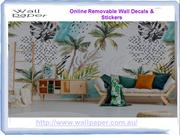 Get Removable Wall Stickers & Wall Decals For your Home