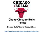 Discount Chicago Bulls Tickets