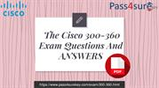 New Cisco 300-360 Dumps PDF Questions And Answers