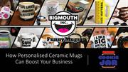 How Personalised Ceramic Mugs Can Boost Your Business - Cookie Jar