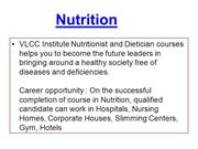 Nutrition Training Courses-Nutrition Professional Diploma-Dietitian Ce