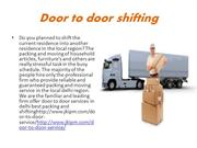 best door to door shifting